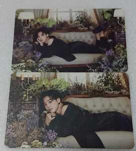 BTS 防弾少年団 BE CDアルバム付属 公式グッズ トレカ ジミン V 2枚セット