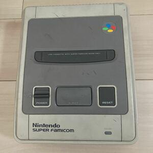 ファミコン本体 スーパーファミコン Nintendo 任天堂 ニンテンドー SHVC-001 本体のみ ジャンク品