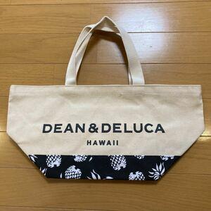 DEAN&DELUCA ディーンアンドデルーカハワイ限定 パイナップル柄 トートバッグ ディーン&デルーカ エコバッグ DEEN
