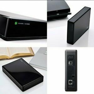 外付けHDD 3TB テレビ録画 USB3.1(Gen1) / USB3.0 日本製 LHD-ENA030U3WS