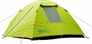 テントファクトリー テント グリーンサイドドームテント 3L 3人用 TF-GS3L