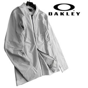 OAKLEY オークリー スカル ゴルフ 新品 定1.7万 撥水 ストレッチ 軽量 ジャケット アウター ウェア FOA401672 22P XL ▲042▼kkf0974e