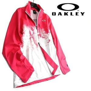 OAKLEY オークリー スカル ゴルフ 新品 定1.4万 撥水 防風 ウインドブレーカー ライト ジャケット FOA401673 81J XL ▲034▼kkf0963e