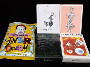 Fontaine Playing Cards Fever Dream HACKER/RAVE/McCormick/GoodCompanyV2 各1個合計4個