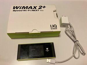 WiMAX 2+ Speed Wi-Fi NEXT W05 HWD36