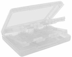 ホワイト 3DS/DSI用 カードケースNEW 3DS / NEW 3DSXL/3DS / DSi/DSi XL/DSi LL/