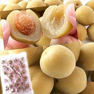北海道とれたて本舗 国産豊後梅100%使用。無着色☆お徳用大粒カリカリ梅500g/常温便