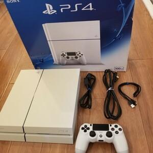 PS4 グレイシャーホワイト  PlayStation4 プレイステーション4 SONY ソニー