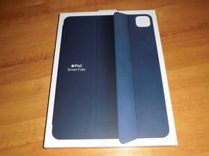 新品未開封★ Apple 純正 iPad Pro 用 11インチ (第1世代,第2世代,第3世代) Smart Folio スマートフォリオ ディープネイビー MGYX3FE/A