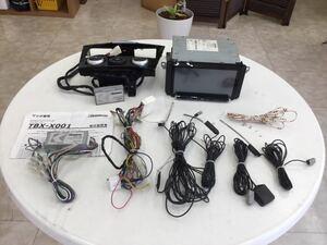 RX-8 前期 社外ナビ クラリオン NX616 地デジTV フルセグ Bluetooth BOSEサウンドシステム装着車使用可 カナック企画 メモリーナビ