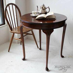 L3306-69 英国アンティーク オークスモールテーブル イギリス