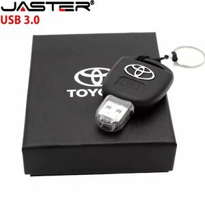 【新品】TOYOTA トヨタ キータイプ USBメモリー32GB USB3.0対応 高速データ転送 ギフト・ノベルティー【即決】