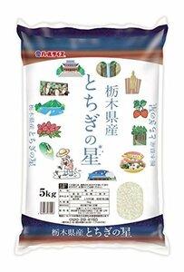 【精米】栃木県産 白米 とちぎの星 5kg 平成30年産