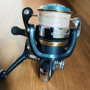 ダイワ エメラルダスインフィート2506 ダブルハンドル アオリイカ エギング 1円から売り切り。機関良好 ゴリシャリなし PEライン付き