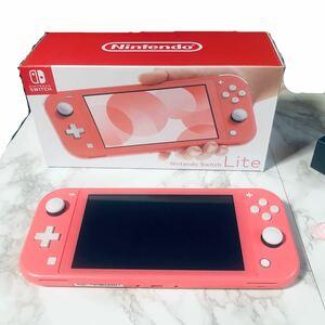 Nintendo Switch Lite コーラル ピンク