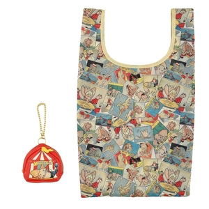 ダンボ ショッピングバッグ・エコバッグ ポーチ入り DUMBO 80 売切れ品 ディズニー