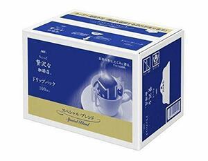 新品AGF ちょっと贅沢な珈琲店 レギュラーコーヒー ドリップパック スペシャルブレンド 7g*100袋 【 ドリッ5LUV
