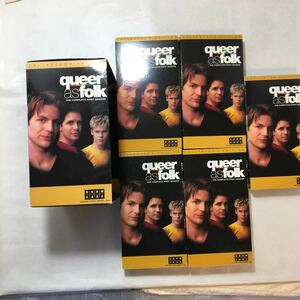 zaa-zvd12♪Queer As Folk [VHS] Gale Harold (出演), Hal Sparks (出演) [VHS] 5巻セット
