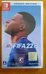 【新品未開封】FIFA 22 LEGACY EDITION- Nintendo Switch