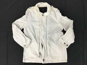 秋冬▲Burberry LONDON バーバリー タータンチェック ジャケット ブルゾン コート ホワイト 白 メンズ レディース
