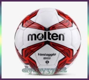 M●モルテン molten サッカーボール フットボール 5号 レッド