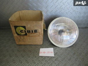 selling out unused CIBIE Cibie H4 10DE head light lamp lens diameter approximately 180mm round 1 piece all-purpose goods 66 70 060 02 immediate payment shelves O-2