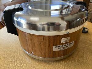 未使用 象印 業務用 電子ジャー 炊飯器 THA-400 付属品あり ZOJIRUSHI 4.0l