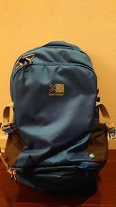 【新品未使用】Karrimor カリマー Dorangoドランゴ 30+5 バックパック ブルー レインカバー付き
