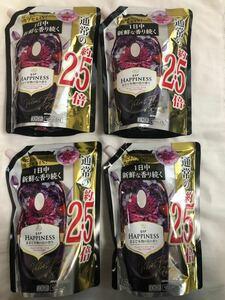 レノア ハピネス 柔軟剤 ヴェルベットフローラル&ブロッサム 詰め替え 約2.5倍1055mL×4袋