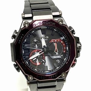 【中古】CASIO G-SHOCK 腕時計 MTG-B2000BD-1A4JF MT-G タフソーラー 多針アナログ ステンレス 樹脂 パープル 紫 メンズ 6026