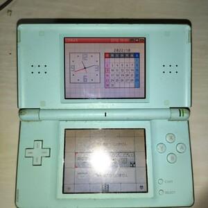 ジャンク Nintendo DS Lite