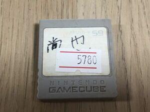 GC ゲームキューブ 周辺機器 メモリーカード59 【管理 5780】【B】