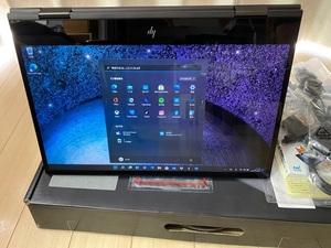 HP ENVY x360 15 Ryzen5 3.7GHz/16GB/512GB SSD/Windows11 Pro【超美品】