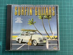 【送料無料】The Ventures 24 Greatest/SURFIN' GUITARS 海外盤 中古