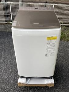 パナソニック 縦型洗濯乾燥機 FWシリーズ ブラウン NA-FW90K8-T [洗濯9.0kg /乾燥4.5kg /ヒーター乾燥] 2020年製造 キャンセル品