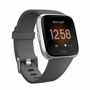 新品Charcoal/Silver Aluminum L/S Size Fitbit フィットビット フィットネスス2THQ