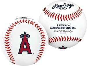 ローリングス オフィシャル MLB エンゼルス ロゴ ベースボール 大谷翔平 野球 ボール