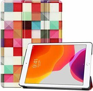 ゴールド Maxku iPad 10.2 2019 第7世代 ケース耐衝撃 スリム 傷つけ防止 三つ折タイプ iPad 10.2