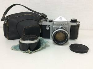 ■5486 PENTAX ASAHI カメラ 172530 K レンズ 1:1.8 f=55mm No 179779 シャッター〇 動作未確認 長期保管品