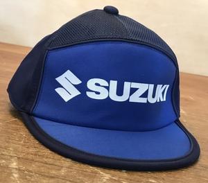 ■送料無料■ SUZUKI スズキ 帽子 メッシュ 作業帽 整備士 エンジニア キャップ LLサイズ 52g ●未使用品/くGOら/CC-3405