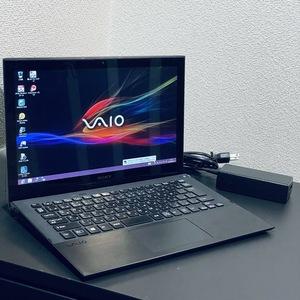 完動品◆ノートパソコン SONY VAIO Pro 11 SVP112A1CN i5-4200U/メモリ 4GB/SSD 128GB /Windows8 純正リカバリ済