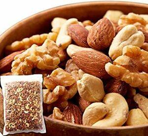 天然生活 ミックスナッツ (1kg) アーモンド くるみ カシューナッツ 食品添加物不使用 食塩不使用 油不使用 おつまみ おや