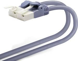 エレコム LANケーブル CAT6A 0.5m ツメが折れない 爪折れ防止コネクタ cat6a対応 スタンダード ブルー