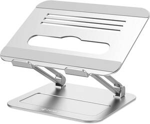 ZENLO ノートパソコンスタンド PCスタンド タブレットスタンド パソコンスタンド 人間工学設計 無段階高さ調整可能