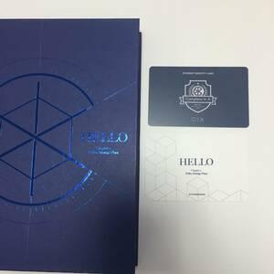 CIX 2nd EP Album HELLOアルバムトレカ他Kポップドボイズ BTS防弾少年団THE BOYZクレビティBXスンフンヨンヒベ・ジニョンヒョンソク
