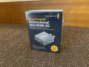 Blackmagicdesign  Micro Converter BiDirectional SDI/HDMI 3G wPSU【未使用】
