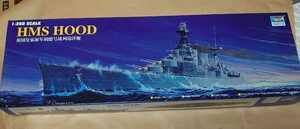 トランペッター 1/350 HMS フッド