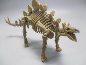 ステゴサウルス ポーズスケルトン&メタルディノ 2種セット