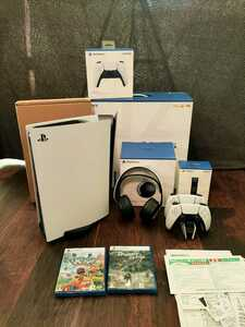 PS5 PlayStation5 本体 通常版 ディスクドライブ搭載モデル made in japan CFI-1000A01 美品  1円