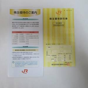 JR東海 株主優待割引券 2022年6月30日まで